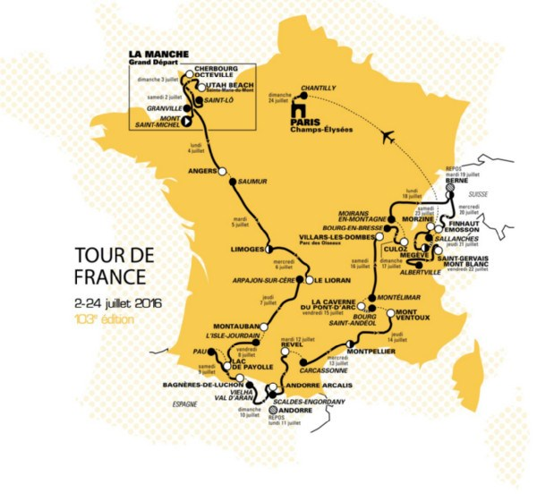 Tour de France Edition de M-WAVE