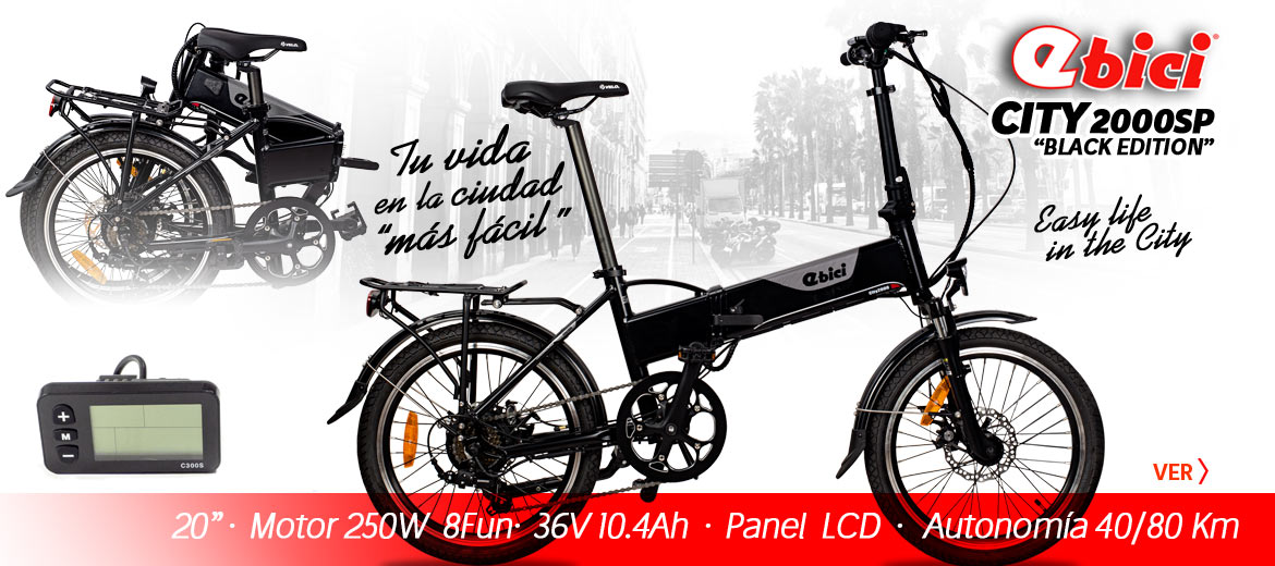 Ebici City 2000SP, la plegable electrica y urbana