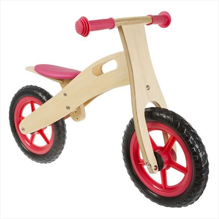 Bici de aprendizaje Light running bike madera-rojo