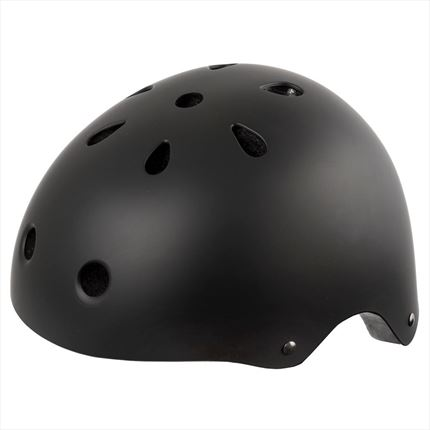 CASCO BMX FREESTYLE NEGRO MATE