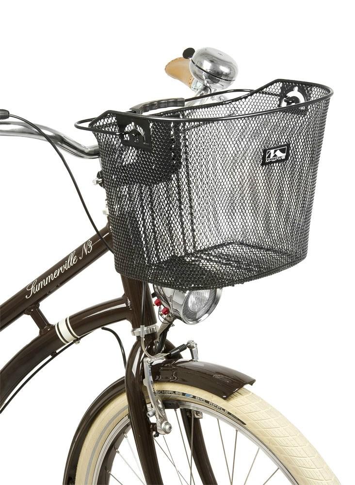 Cesta delantera de bicicleta anclaje a la potencia manillar - Anclaje para bicicletas ...