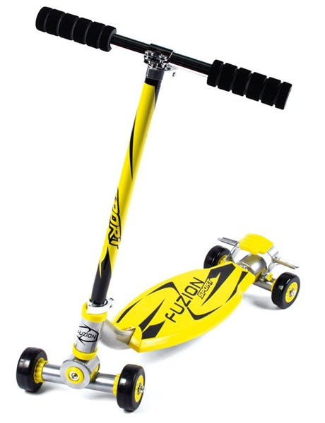 City Scooter Fuzion Sport Yellow