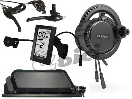 Kit Ebici central 36V 500WM batería porta bultos