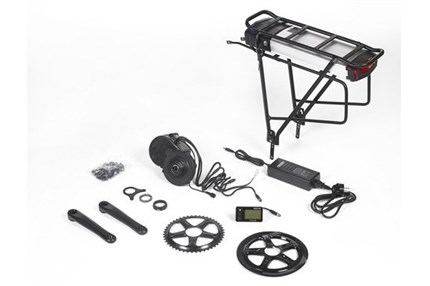 Kit Ebici central XL 750W batería portabultos 18Ah