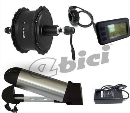Kit Ebici Fat Bike 500W 36V LCD Botella