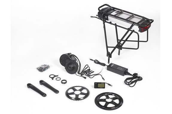 Kit HD Ebici central 48V 1KWM batería porta bultos