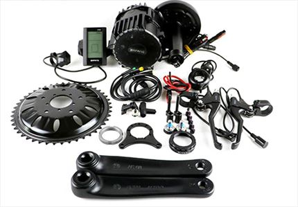 Kit Ebici motor central 1000W 10AH